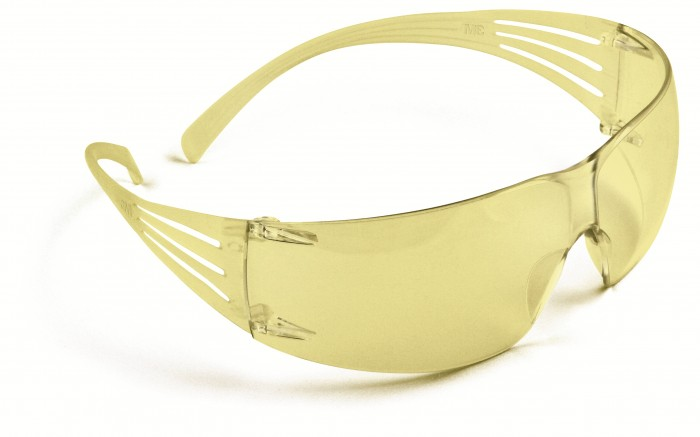 SecureFit™ SF200 Series Spectacles - Yellow 3M