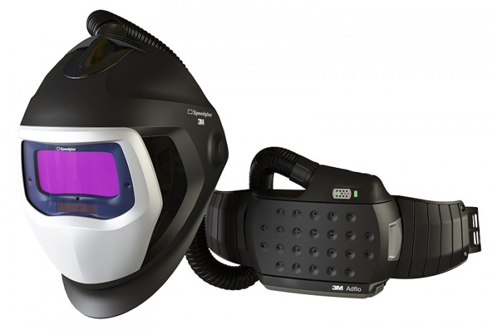 Adflo™ Powered Air Respirator with Speedglas™ 9100 Air Welding Shield and 9100X Filter by 3M