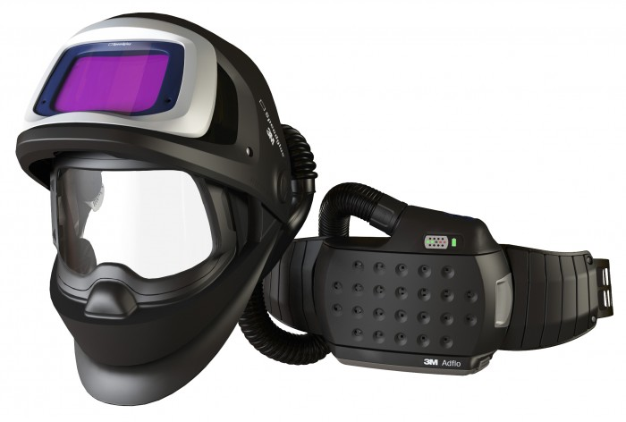 Adflo™ Powered Air Respirator with Speedglas™ 9100 FX Air Welding Shield and 9100XX Filter from 3m