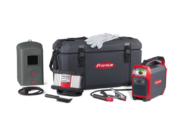 Fronius AccuPocket 150/400 rechargeable battery arc welder Boxed Set