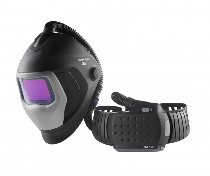 3M™ Speedglas™ 9100 Air Welding Shield with Speedglas 9100XXi ADF and 3M™ Adflo™ Powered Air Respirator