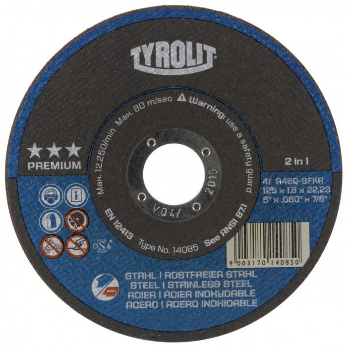 PREMIUM*** Next Generation Superthin Cut-Off Wheels 2 in 1 - Tin of ten