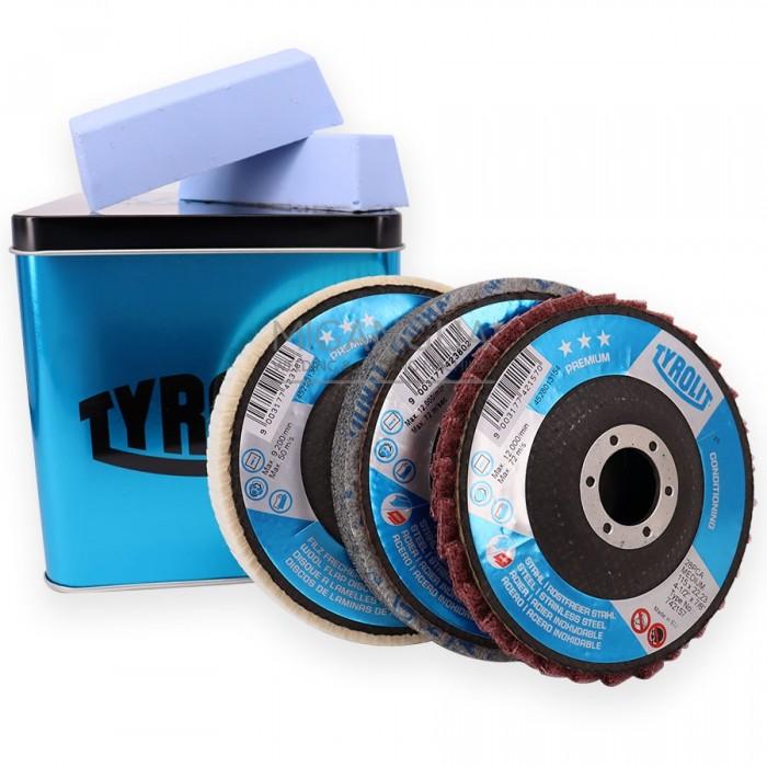 Tyrolit *** Polishing Kit 115x22,23