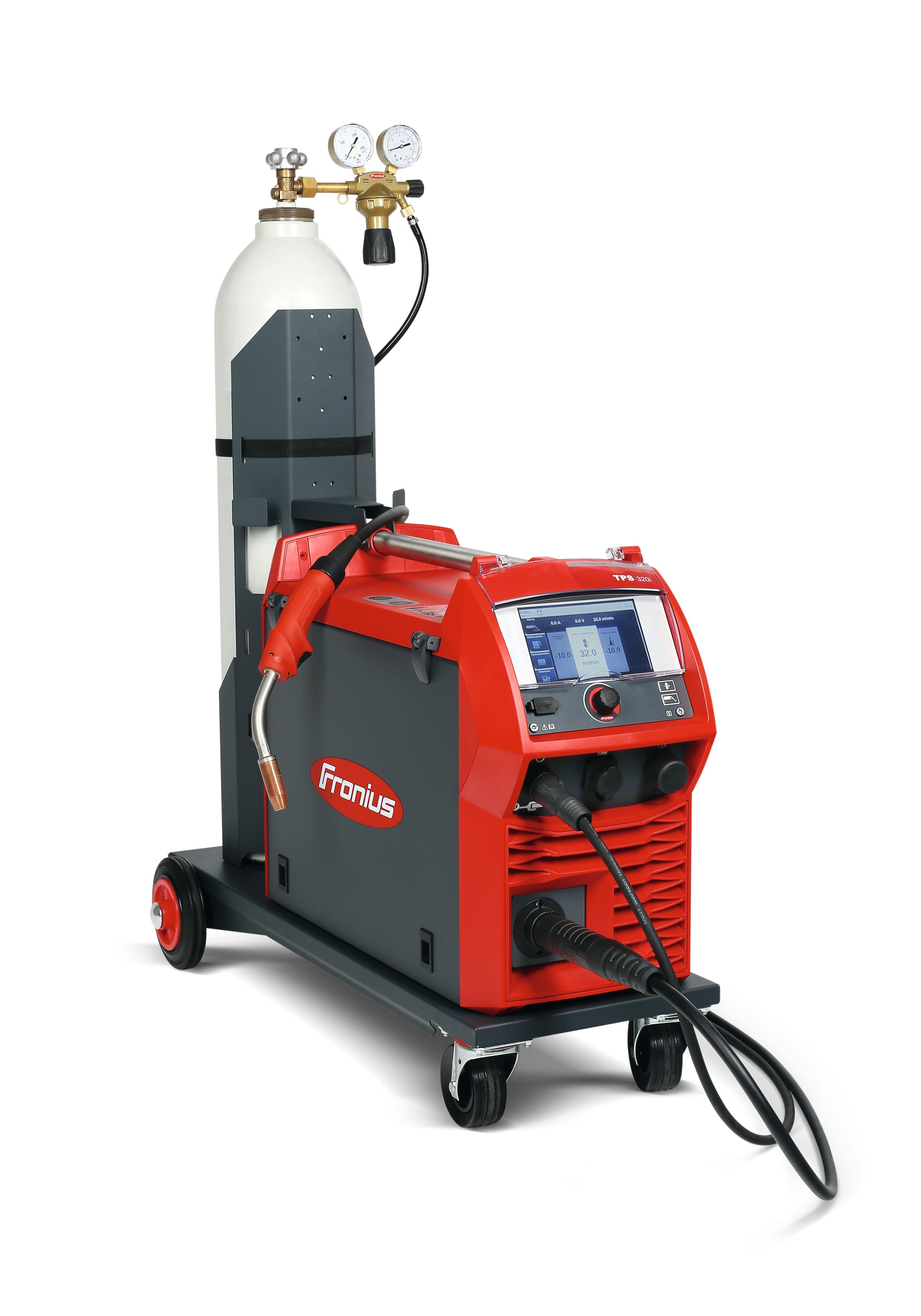 Fronius Tps 320i C Pulse Miganglia Welding Equipment