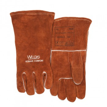 Weldas Welding glove with straight and reinforced thumb