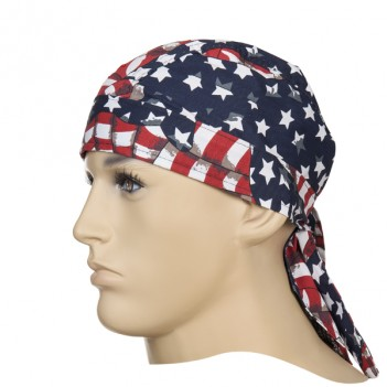 Weldas Fire Fox welding Bandana, USA flag