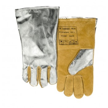 Weldas COMFOflex® lined welding glove with PFR aluminized back