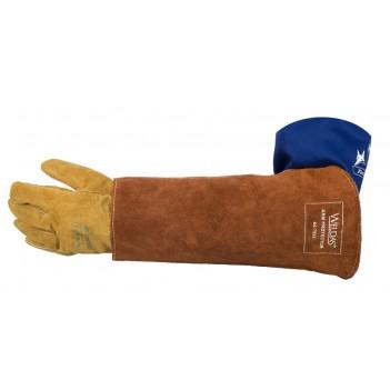 Weldas Lava Brown™ heavy duty arm guard (piece)