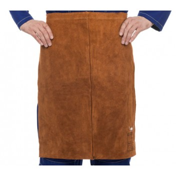 Weldas Lava Brown™ split cow leather welding waist apron