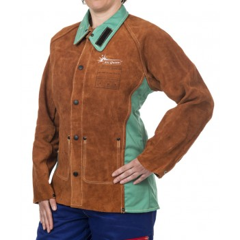 Weldas Lava Brown™ Arc Queen™ ladies welding jacket