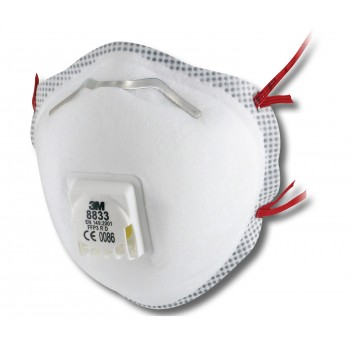 3M™  8833 Particulate Respirator - Pack of 10 units
