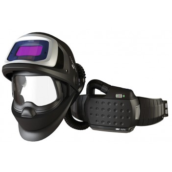 3M™ Adflo™ Powered Air Respirator with Speedglas™ 9100 FX Air Welding Shield and 9100X Filter