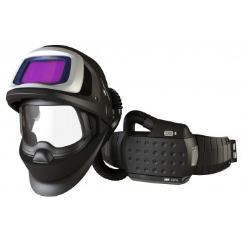 3M™ Adflo™ Powered Air Respirator with Speedglas™ 9100 FX Air Welding Shield and 9100XX Filter
