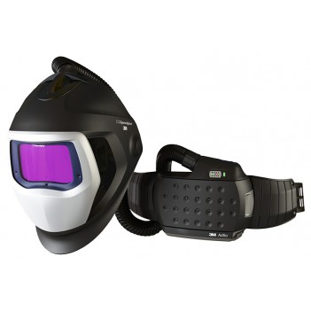 3M™ Adflo™ Powered Air Respirator with Speedglas™ 9100 Air Welding Shield and 9100XX Filter