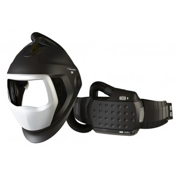3M™ Adflo™ Powered Air Respirator with Speedglas™ 9100 Air Welding Shield without Filter