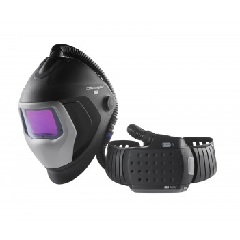 3M™ Speedglas™ 9100 Air Welding Shield with 9100XXi ADF and 3M™ Adflo™ Powered Air Respirator