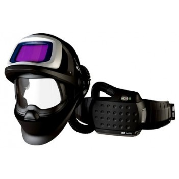 3M™ Speedglas™ 9100 FX Air Welding Shield with 9100XXi ADF and 3M™ Adflo™ Powered Air Respirator
