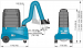 Filtercart dimensions