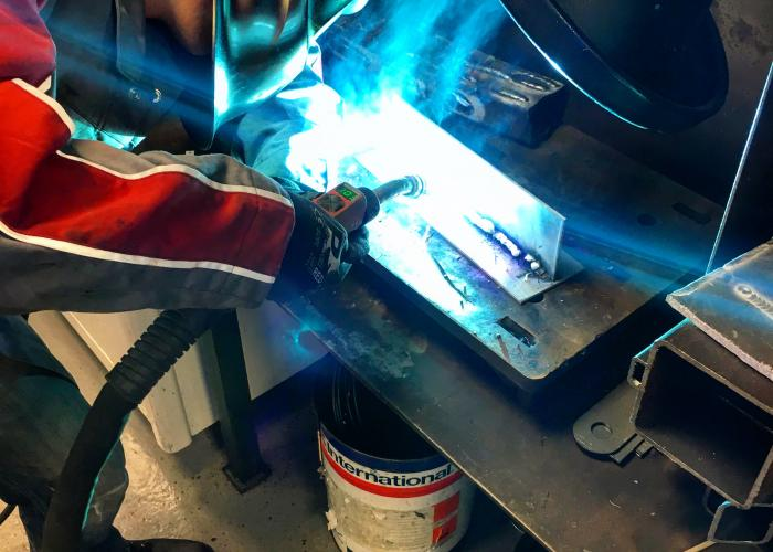 Welder training with Miganglia